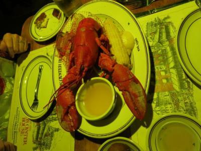 どのガイドブックにも紹介されているボストン一番(?)のシーフードレストラン