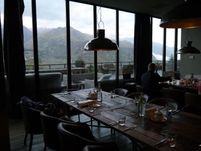 レストランからも景色が眺められます