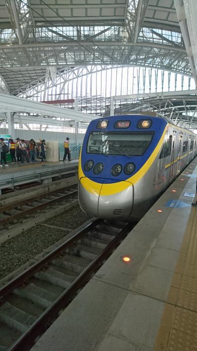 電車を利用して台鉄台中駅から高鉄台中駅まで行ってみた