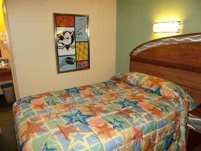 かわいいベッド。