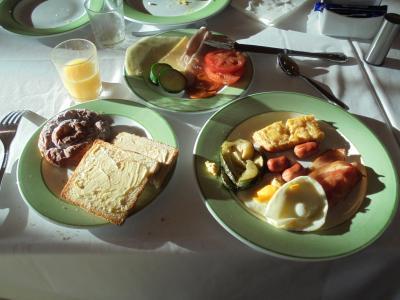 バイキングの朝食です。
