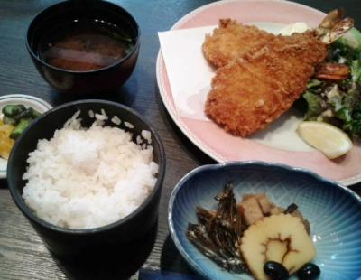 海鮮の定食