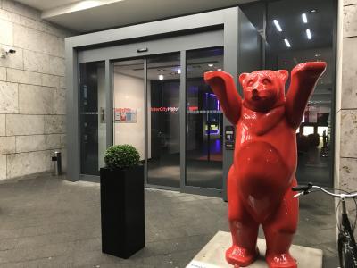 赤い熊が目印でした