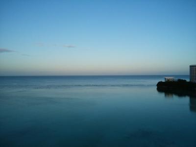 ラナイからの景色(日航方面)