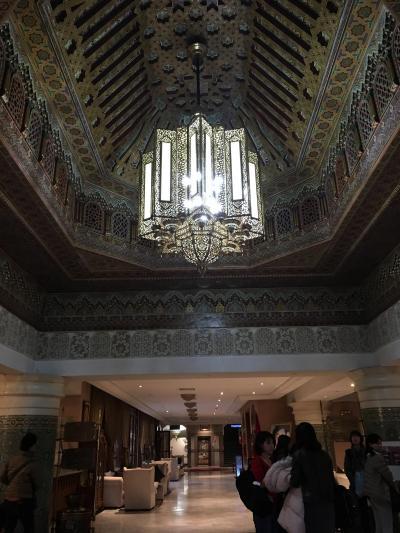 ザラー パーク パレス ロビーの天井