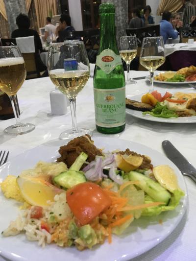 ザラー パーク パレス 夕食