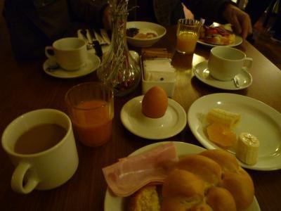 朝食、おいしい!