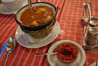 旅行者にやさしいハンガリー料理店