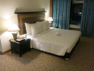 部屋からの展望が売り物のホテル