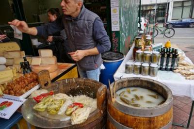 ウィーンの食が集まるマーケット