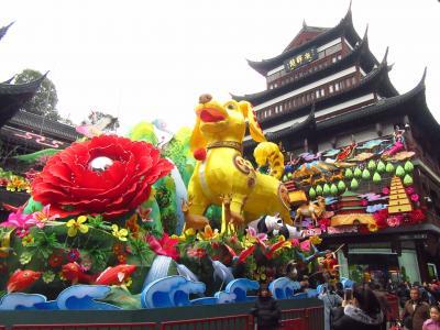 (上海)ランタンフェスティバル開催中!