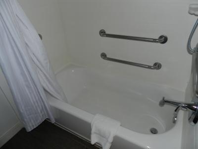 バスルームは可もなく不可もなく...
