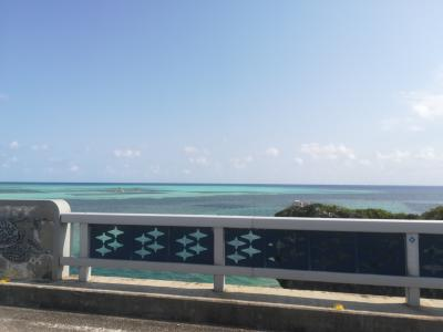 海がとてもあおいです