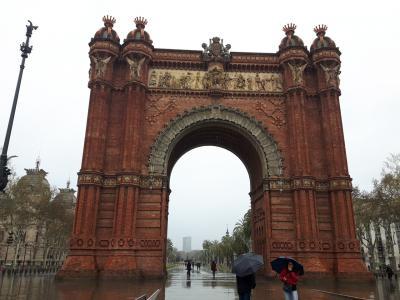 その名のとおりバルセロナの凱旋門