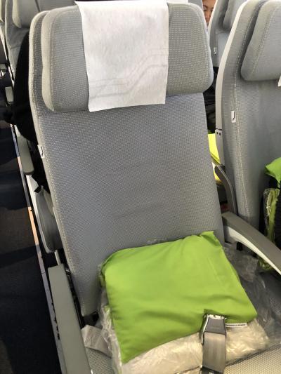 安定の、快適おしゃれな空の旅。
