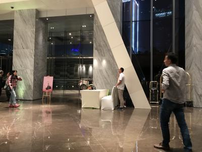 新しくてとてもきれいなホテルです