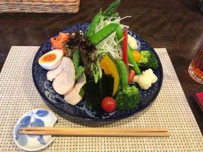 野菜をガッツリ食べられるランチ