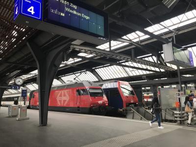 チューリッヒ観光の拠点