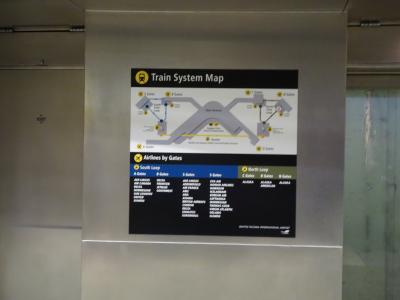 シアトルタコマ国際空港の乗継