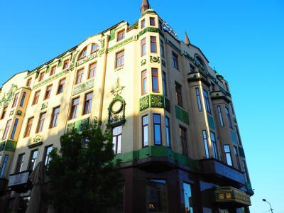 かわいい外観で、ベオグラード市内の目印になっています