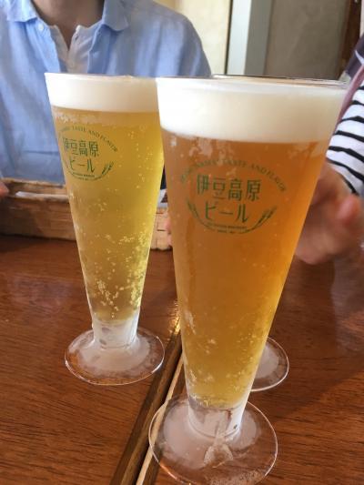 美味しいクラフトビールと海の幸!