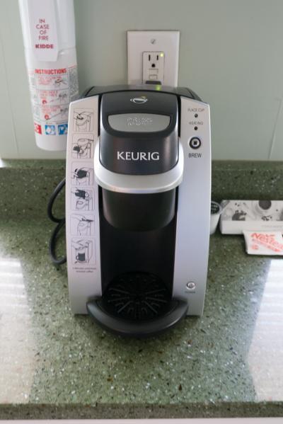カプセルタイプのコーヒーマシン