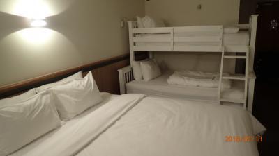 2段ベッドもついてました