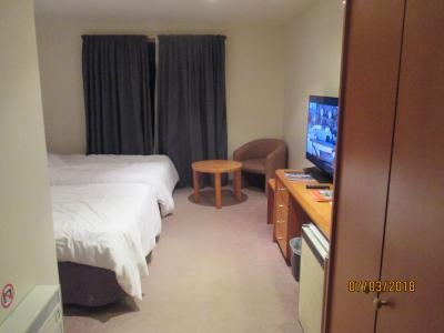 スタンダードのツインルームに、2連泊しました