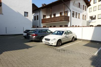 街の中心にあって観光に便利。駐車場利用しました。