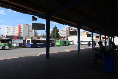 鉄道駅近く