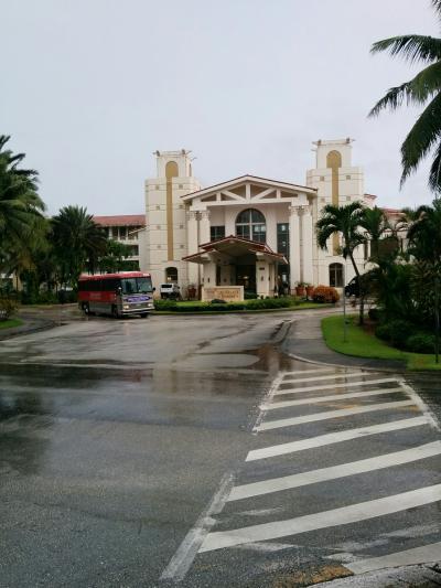 レオパレスリゾートグアムの中央棟