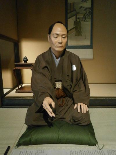 お堀端沿いで松江藩の中級武士が暮らしていた武家屋敷