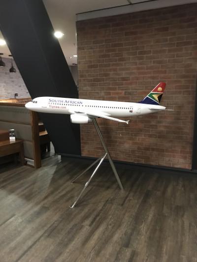 南アフリカ航空 国内線ラウンジ、国際線共通ラウンジ