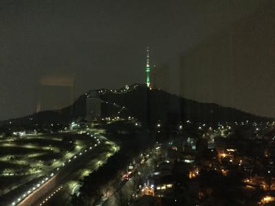 部屋の夜景が素敵なホテル