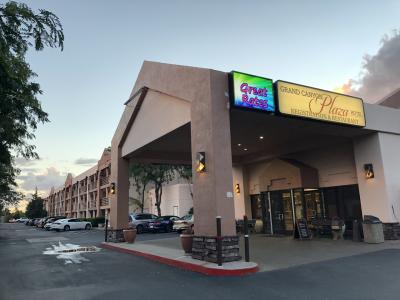 大きなホテルです。