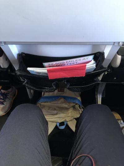 バージンアメリカの機内が楽しめました。