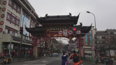 人でにぎわう上海観光スポット☆