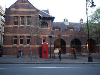 シドニー最初の入植が行われた歴史ある場所。