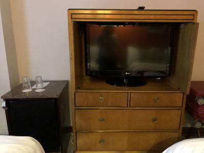 テレビと冷蔵庫、ポットは無し