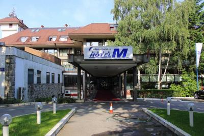 ごく普通のホテルですが、ベオグラードの中では綺麗なホテルでは