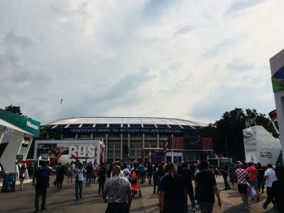 決勝の舞台に相応しいスタジアム