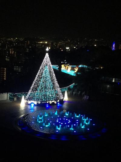 城山観光ホテル クリスマスイルミネーション