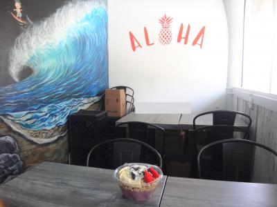 【JP CAFE & BAR】で食べたアサイーボウル