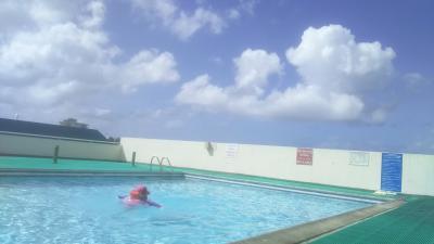 グランドプラザホテルのプールです