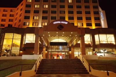 すこし古いですが、いい感じのホテルです