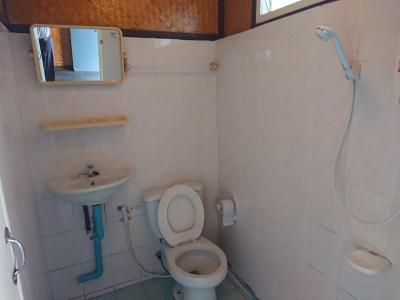 洗面台、トイレ、シャワーです。手入れがなされていてきれいです