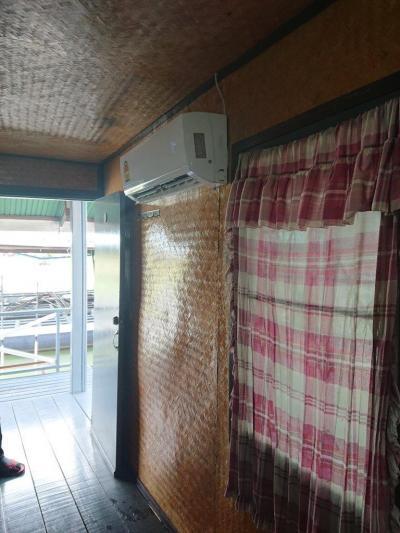 エアコンですので、外気から保護されています。なんとか安心です