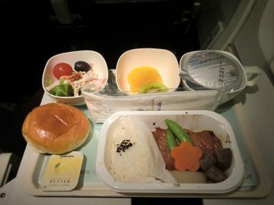 関空-グアム 機内食