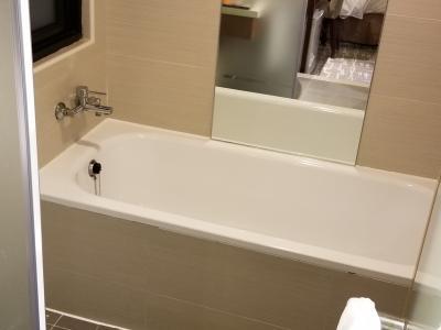洗い場付きの日本風お風呂