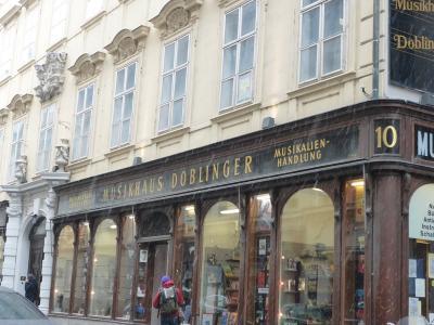 ウィーンの老舗楽譜店